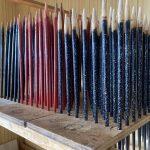極上青貝乾漆は、岩多箸店の看板商品です