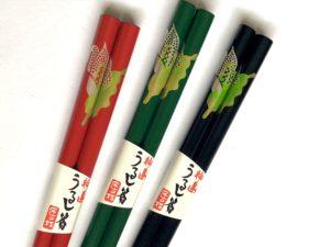 うるし箸【水芭蕉】