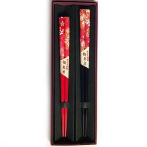 和紙箸【赤桜】