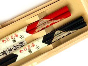 うるし箸【富士】