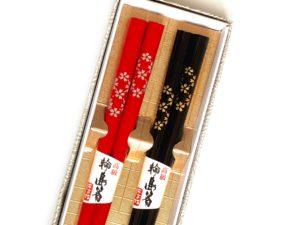輪島箸【小桜】