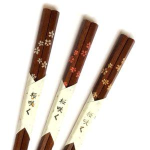 拭きうるし箸【桜咲く】