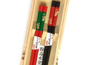 うるし箸【ひさご】