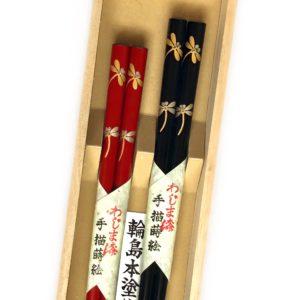 うるし箸【トンボ】