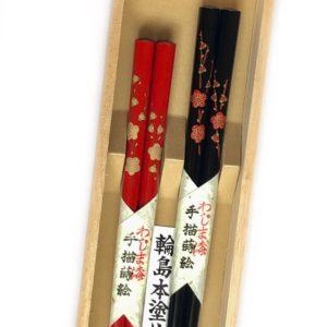 うるし箸【梅】