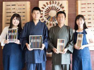 岩多箸店社長夫妻、息子夫婦