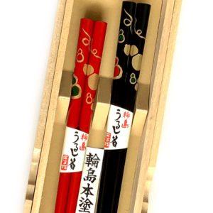 うるし箸【六瓢】