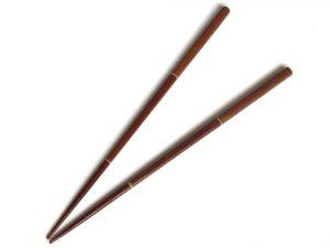 【竹の工程箸】