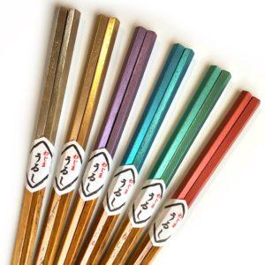 栗の五角箸